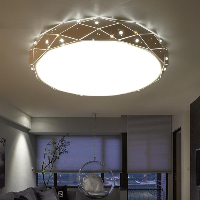 US $20.59 53% OFF|Modern LED Ceiling lights living room lamps Nordic lustre  bedroom Ceiling lighting home indoor fixtures Children room luminaires-in  ...