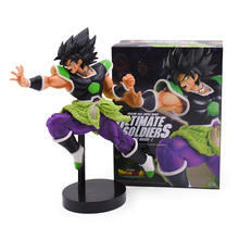12-23CM Dragon Ball Movie Broly PVC Action Figures DRAMATIC SHOWCASE Angel Goku Gohan Frieza Model Toy Doll Figuras DBZ Gokou wall e robot movie model cold rolled steel metal action figure toy doll robote personal handmade crafts juguetes figuras wall e