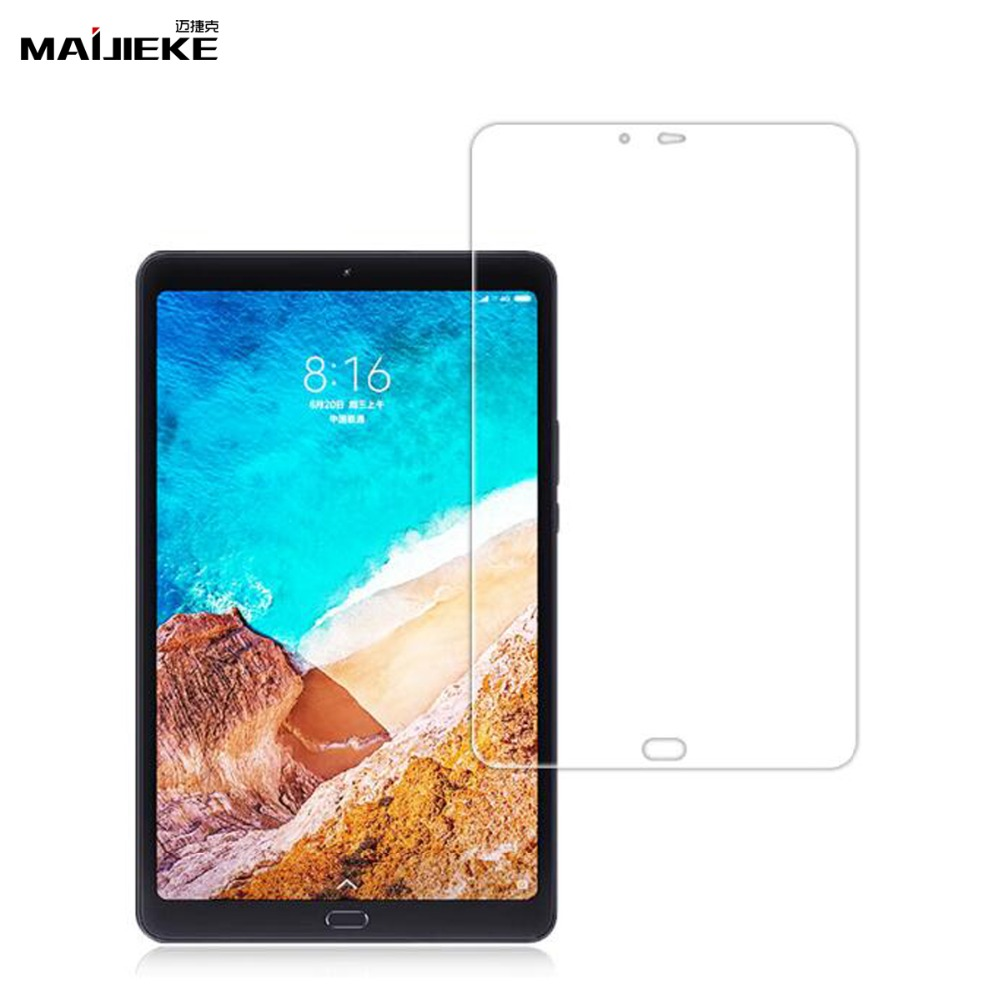 цены New 9H 2.5D Mi Pad 4plus Tempered Glass for For Xiaomi Mi Pad 4 plus Front Screen Protector Film On MiPad 4 plus Tablet Glass