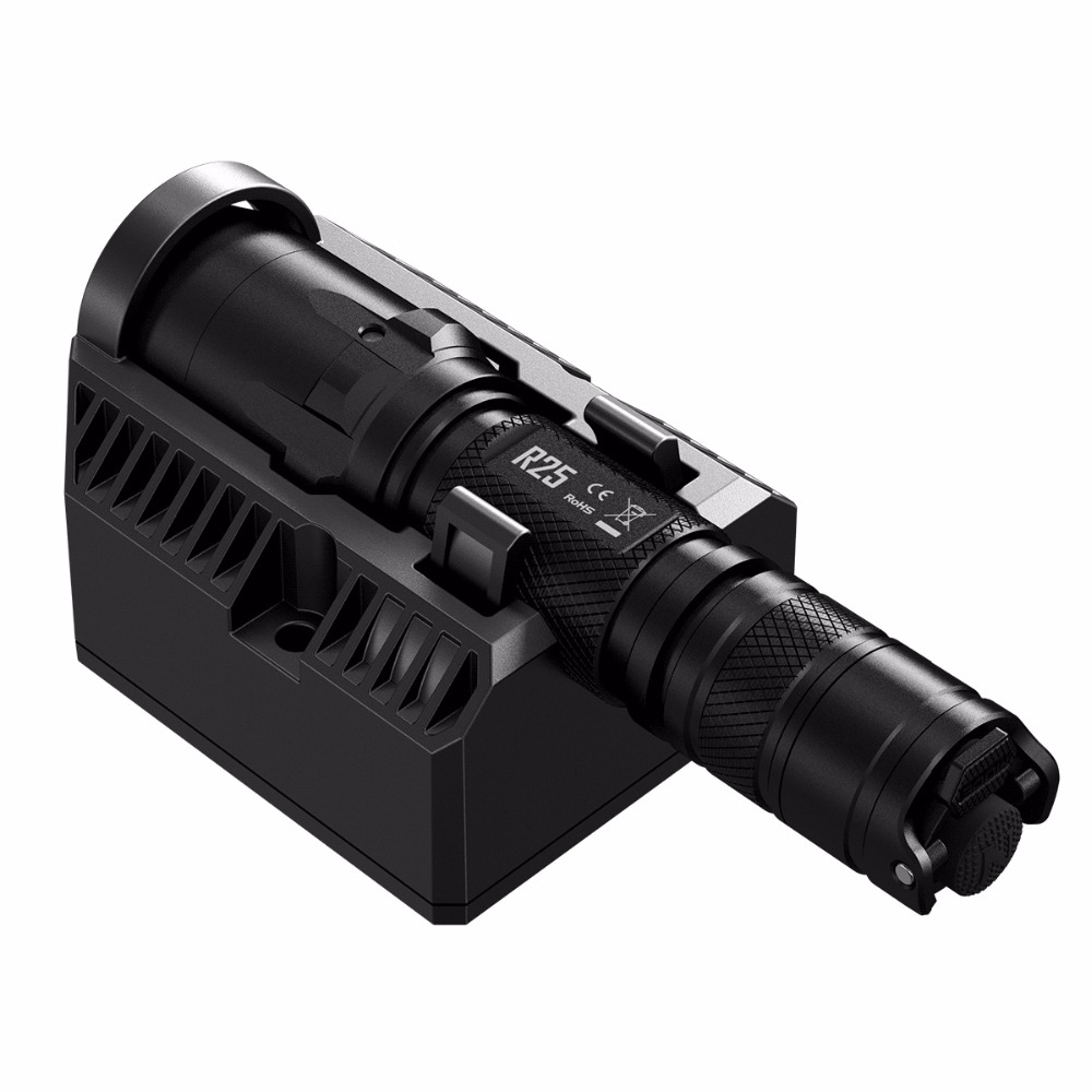 SALE NITECORE R25 800LM XP-L HI V3 LED Torch Tactical Flashlight Unmatched Performance Smart Charging Dock+ Rechargeable Battery цена и фото