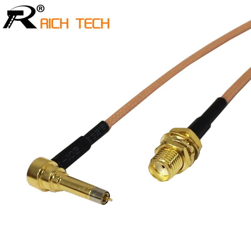 RF SMA Female Switch 3G Modem Connector Cable Assembly For LTE Yota One LU150/Huawei E1550 E171 E153/ZTE MF100 MF180 15CM