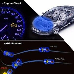Image 3 - Autel ML629 OBD2 herramienta de diagnóstico de coche, lector de código + ABS/SRS herramienta automática, apagado la luz del motor (MIL) y ABS/SRS