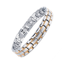 Vintage Magnetic Bracelet for Men / Women Magnet Healthy Healing Therapy Bio Energy Bangles Fashion Jewelry