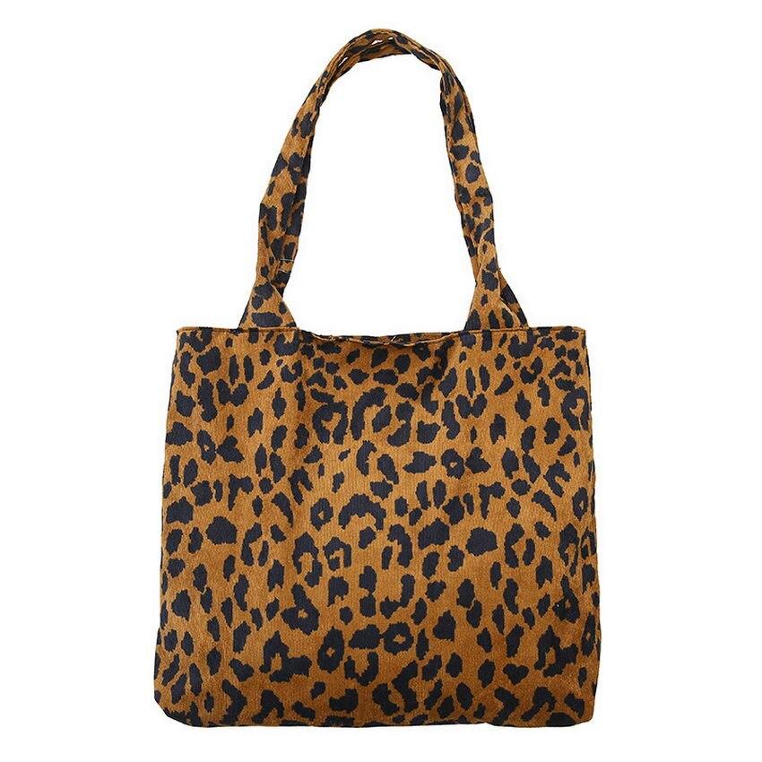 KANDRA 2019 Carry-All Leopard Crossbody Bag Single Shoulder Utility Tote Women Weekender Haul It All Shopping Bag