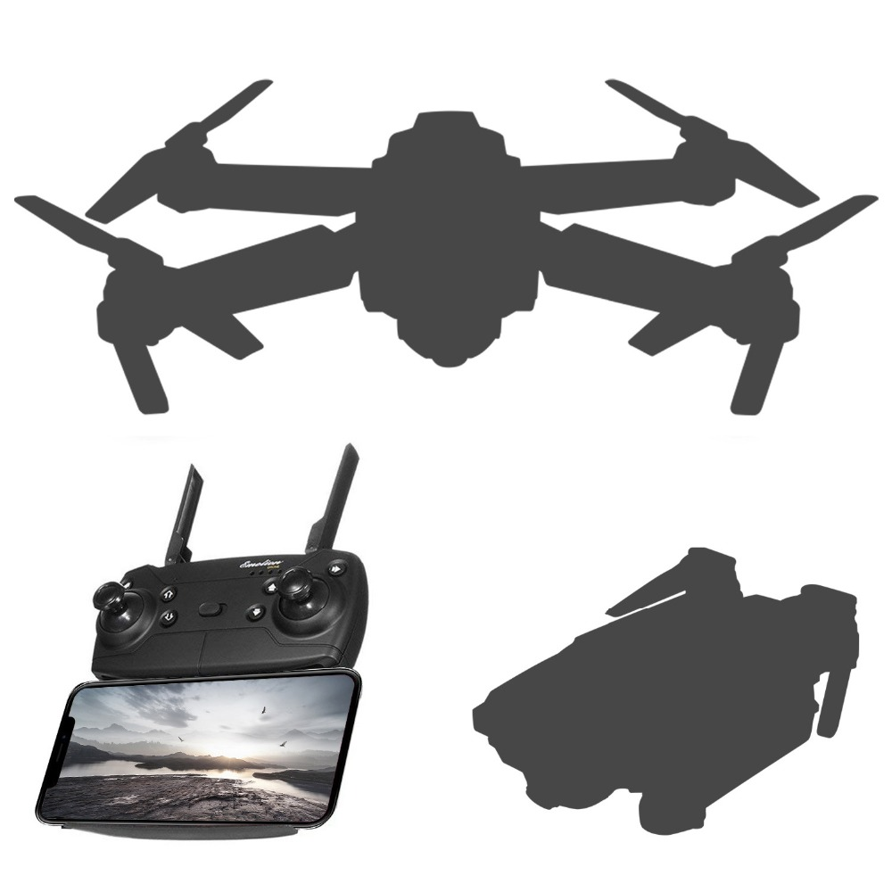 FPV RC Drone WIFI FPV With Wide Angle HD Camera High Hold Mode Foldable Arm RC Quadcopter Drone RTF FPV RC Drone WIFI FPV With Wide Angle HD Camera High Hold Mode Foldable Arm RC Quadcopter Drone RTF