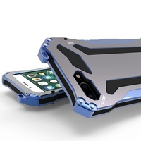 For IPhone 6 6s 7 Plus Phone Cases Ultra Thin Metal Aluminum Silicon Life Waterproof Shockproof