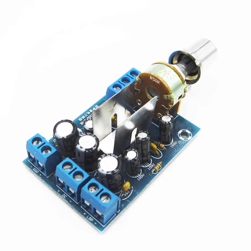 TEA2025B 2 0 Stereo TWO Double Dual Channel Mini Audio Amplifier Board  Module For PC Speaker 3W+3W 5V 9V 12V