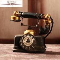 Shabby Chic Zakka Vintage Home Deco Craft Ornaments Telephone Gifts Diy
