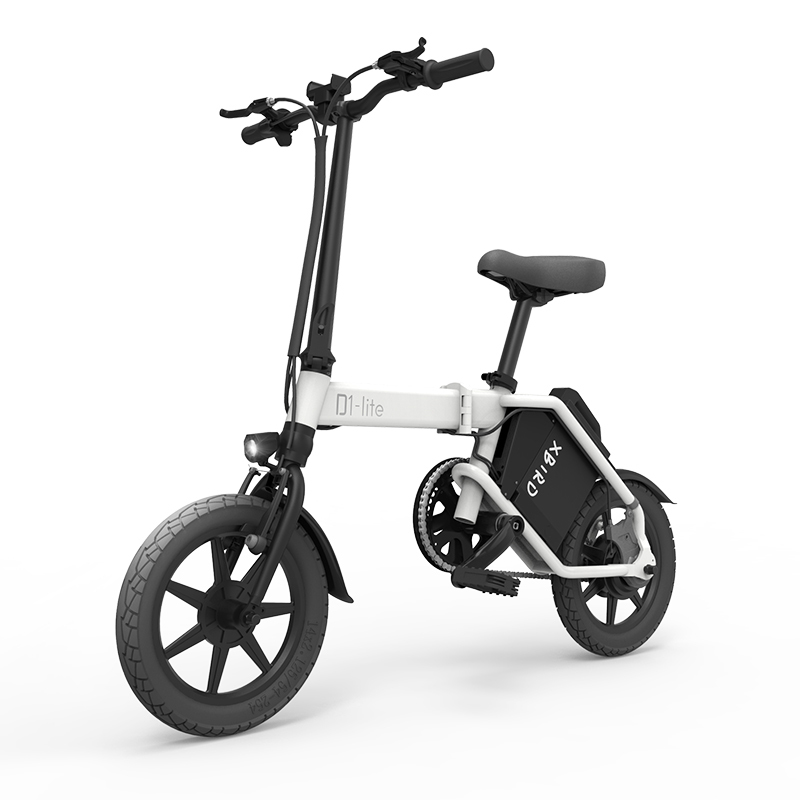 14inch Electric Bicycle 48v20ah Lithium Battery 300w Rear Wheel Driver Motor Mini Fold Electric Bike City Ebike 20km/h