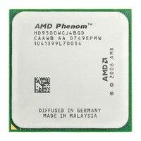Amd phenom x4 9500 processador central quad core (2.2 ghz/2 m/95 w/) soquete am2 +|CPUs|Computador e Escritório -