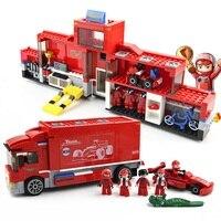 Technic Assemble Touring Truck Formula Racing Car DIY Model Building Blocks Toys Educational Model Compatible Legod Tech