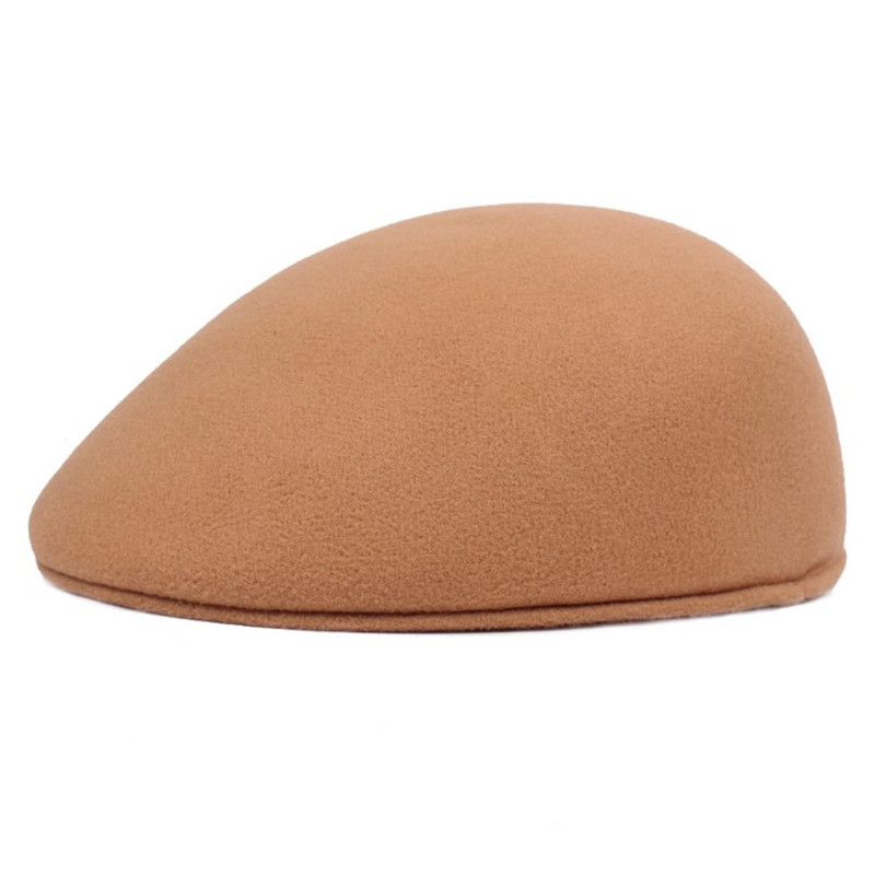 SILOQIN Women 39 s Fashion Elegant Cap Autumn Winter Warm Berets For Women Simple Solid Color Duckbill Beret Flat Caps Golf Ivy Hat in Women 39 s Berets from Apparel Accessories