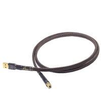 HiFi MPS HD-990 HiFi 99.9999% OCC + 실버 도금 24K10u 금도금 플러그 USB2.0 3.0 커넥터 오디오 케이블 DAC PC 오디오 데이터 케이블