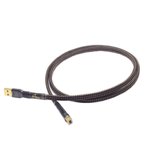 HiFi MPS HD 990 HiFi 99.9999% OCC+Silver Plated 24K10u Gold Plated Plug USB2.0 3.0 connector audio cable DAC PC Audio data cable