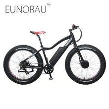 Новый Ebike 2WD электрический жира велосипед 36 В 11AH литиевых Батарея электрический снег велосипед Электрический горный велосипед Велоспорт