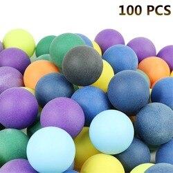 100 Pcs/Pack Farbige Ping Pong Bälle 40mm 2,4g Unterhaltung Tischtennis Bälle Farben für Spiel und Werbung