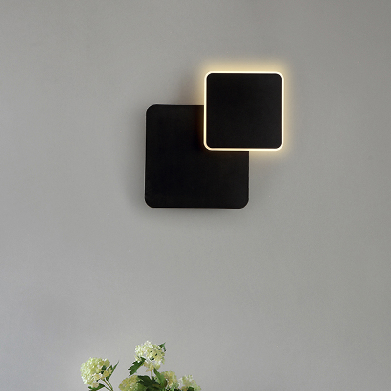 Nordic LED wall lamp bedroom bedside lamp modern simple living room aisle staircase wall lamp