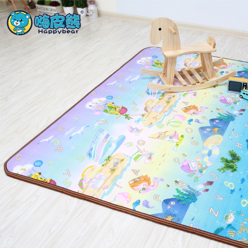 Baby Gyms & Playmats Double-Side Activity Gym Mat Developing Mat Crawling Thick Playmat Baby Educational Rug For Children