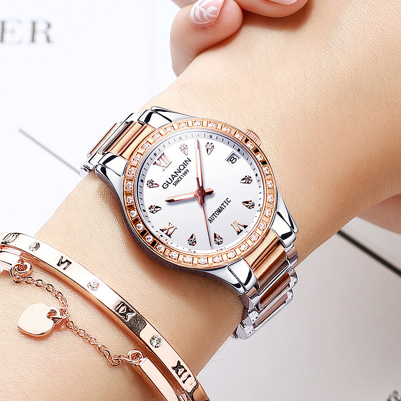 Women Watches Fashion 2019 Geneva Designer Ladies Watch Luxury Brand Diamond Automatic mechanical Rose Gold Gifts For WomenWomen Watches Fashion 2019 Geneva Designer Ladies Watch Luxury Brand Diamond Automatic mechanical Rose Gold Gifts For Women