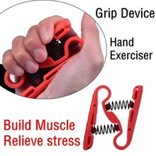 Portable Size Adjustable Hand Gripper Gym Power Fitness Hand Exerciser