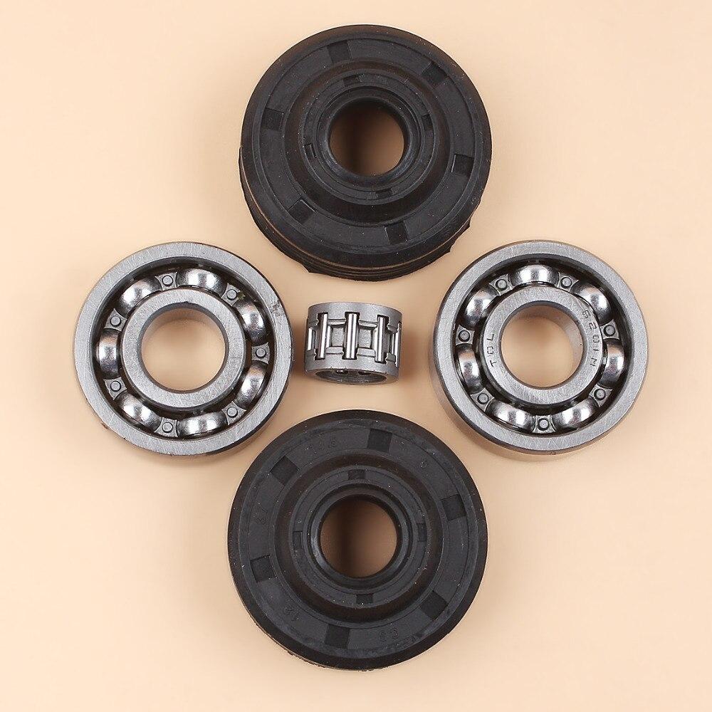 Crankshaft Crank Ball Bearing Oil Seal Kit For HUSQVARNA 240 236 235 142 141 136 137 36 41 Chainsaw Parts