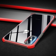 2pcs lot for iphone 6 6s plus iphone 8 Plus Case Silicon Clear Cover Cases Coque for iphone 7 Plus iphone X 10 Cases Accessories cheap 4 corner shockproof + Anti-slide pattern IPHONE XR iPhone 6 Plus iphone xs IPHONE 6S IPHONE XS MAX iPhone 6s plus Fitted Case