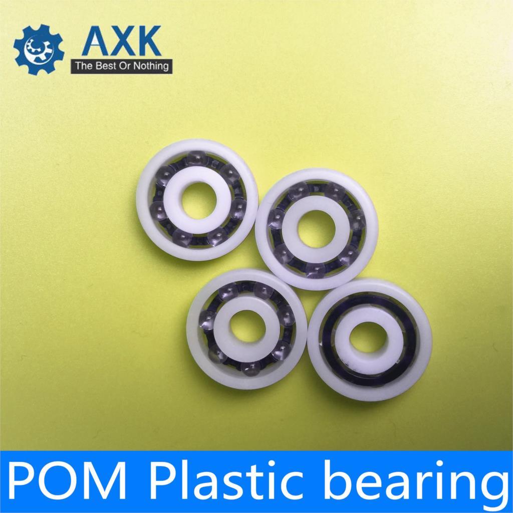684 4*9*4 Plastic Nylon POM Ball Bearings 4x9x4 mm 12 pcs