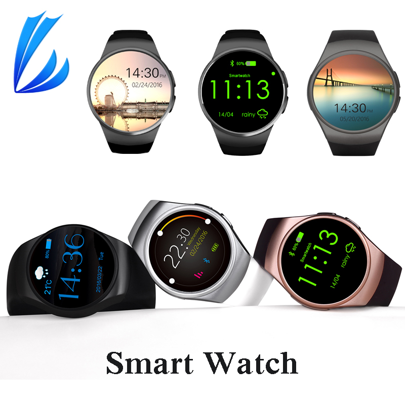 цена на LL TRADER Smart Watch Bluetooth 4.0 Smart Watches Sport Phone Men With Heart Rate Sleep Monitor Support SIM TF Card Smartwatch