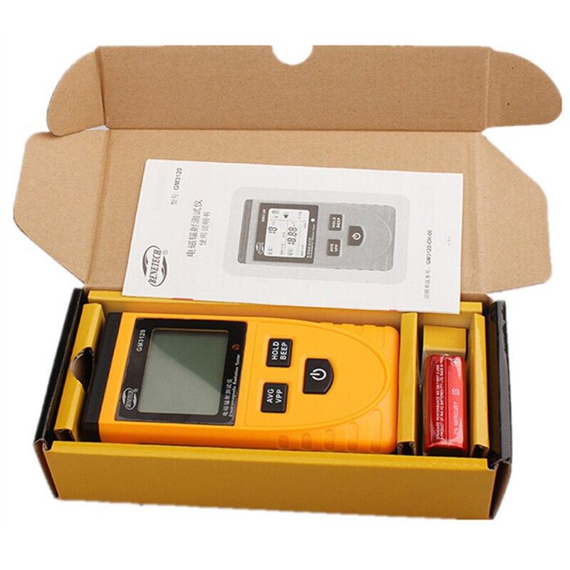 Digital LCD Electromagnetic Radiation Detector Meter Dosimeter Tester GM3120 anti electromagnetic radiation measurement  цены