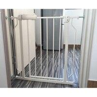 Детские ворота Детская безопасность ограждение для детей забор лестницы ПЭТ ворота безопасный дверной охранник для детских ворот безопасн