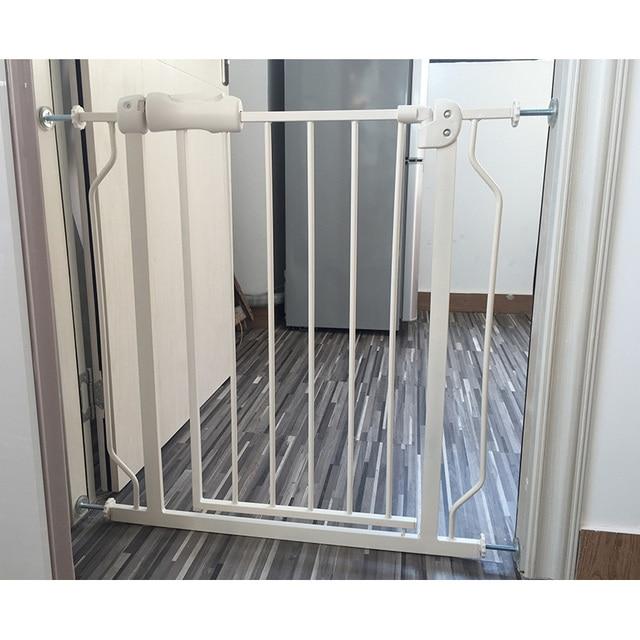 56ba0e0fd8e5c Puerta de seguridad para bebé cercado para niños valla escaleras puerta de seguridad  para mascotas puerta