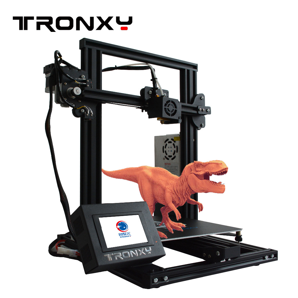 Hot sale Tro XY-2 Fast Assembly Full metal 3D Printer 220*220*260mm High printing Magnetic Heat Paper 3.5 Inches Touch Screen image
