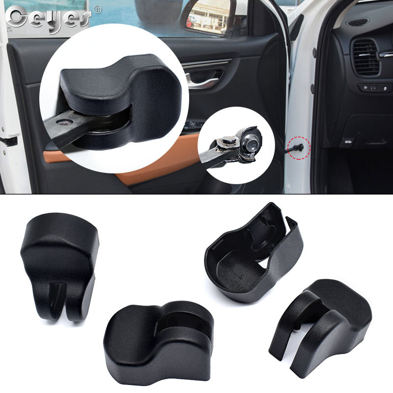 Ceyes Car Styling Protect ABS Auto Door Lock Stopper Limiting Cover Case For Kia Rio 4 Cerato Sportage Forte Sorento Soul Buckle