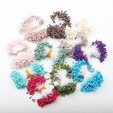 Artificial Flowers 360PCS/Lot Fake Plastic 11 Colors Stamen DIY Flower Handmade Any Festivals Home Decoration 19619