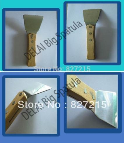 100 pcs big spatulas and 100 pcs small spatulas shipping to Russia by EMS
