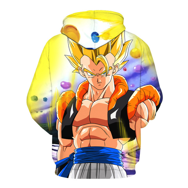 Dragon Ball Z Gogeta Super Saiyan Sweatshirts Hoodie