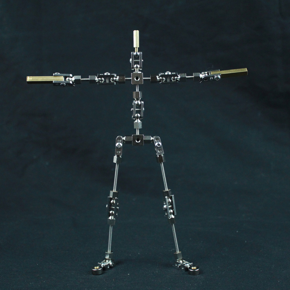 SWA-15 15CM WOMAN skeleton DIY Stop Motion Animation Character Puppet Armature