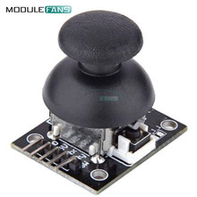 5P 5Pin JoyStick Breakout Shield Module Board Joystick Game Controller AL 2.54mm Pin Interface Two Way Rocker 5V Module