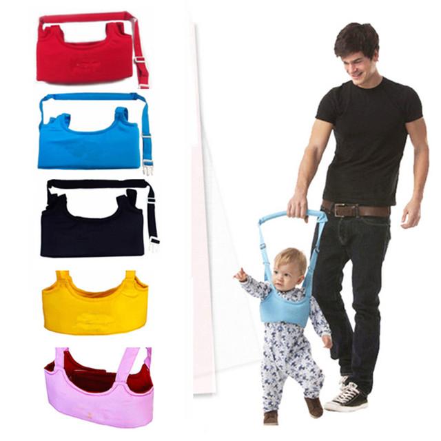 Nuevo Niño Ejercicio Arquero Bebé Seguro Ayuda Cinturón Kids Toddler Correa de Seguridad Ajustable Senderismo Asistente Aprendizaje Arnés Ala Lleva