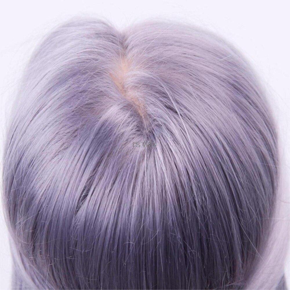 Mannequin de Salon têtes de coiffure Maniqui pratique la coiffure têtes de poupée Maniquies cheveux coupe modèle de coiffure pour coiffeur - 5