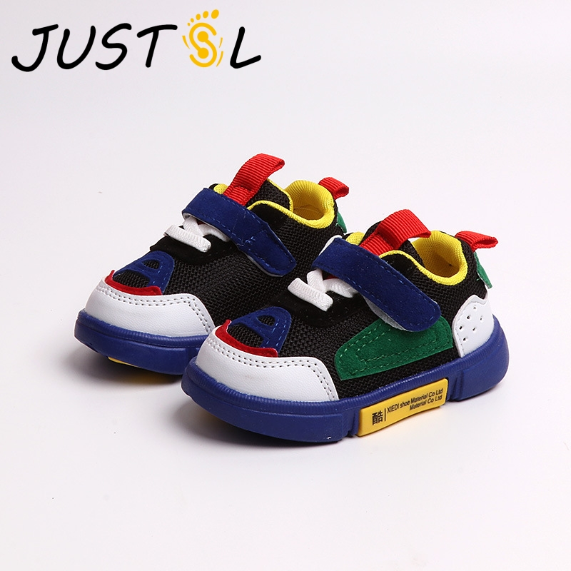 JUSTSL Toddler Shoes Sneakers Infant Baby Baby-Boys-Girls Autumn Soft-Bottom Comfortable