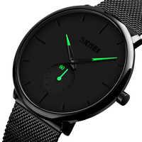 Relojes de cuarzo SKMEI para hombre, Relojes de pulsera impermeables para mujer, Relojes de pulsera para hombre, Relojes de pulsera para hombre, Relojes para hombre, 9185