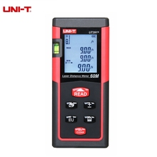 UNI-T UT390B+ UT391+ Laser Distance Meter Handheld 40M 60M Rangefinder Self-calibration Level Monitoring Automatic Calibration