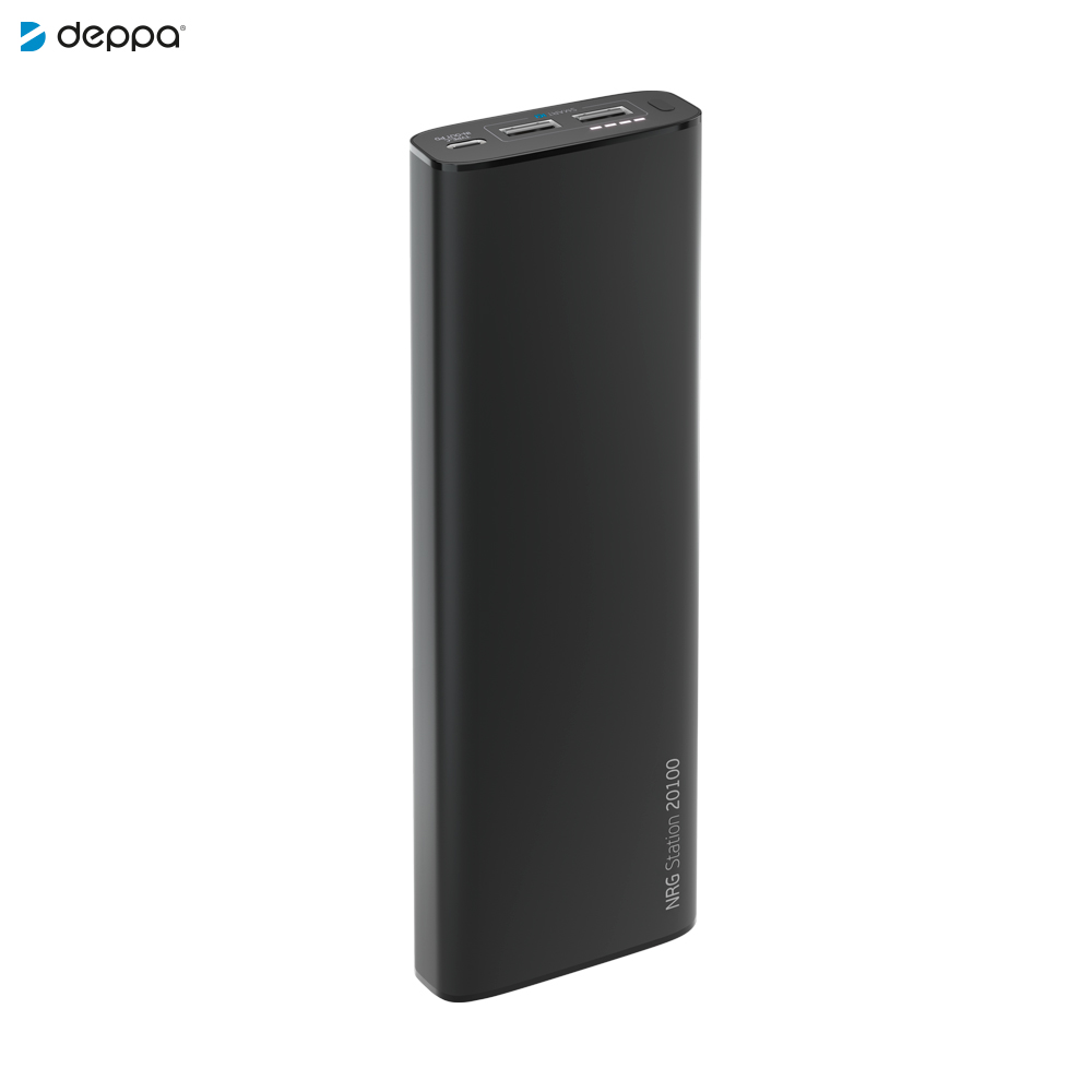 Power Bank Deppa 33540 external battery portable charging Mobile Phone Accessories Telecommunications leyou ly 980 12800mah power bank external battery charger for cell phone tablet pc blue