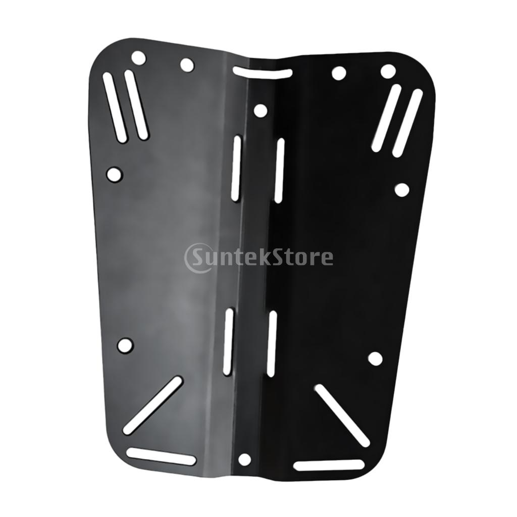 Heavy Duty Aviation Aluminum Back Plate Backplate Universal for Technical Scuba Diving Harness System дырокол deli heavy duty e0130