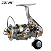 Goture HS2000 3000 5000 Ultral Light High Speed Spinning Reel 8KG Max Drag Power Fishing Reel Waterproof Frame