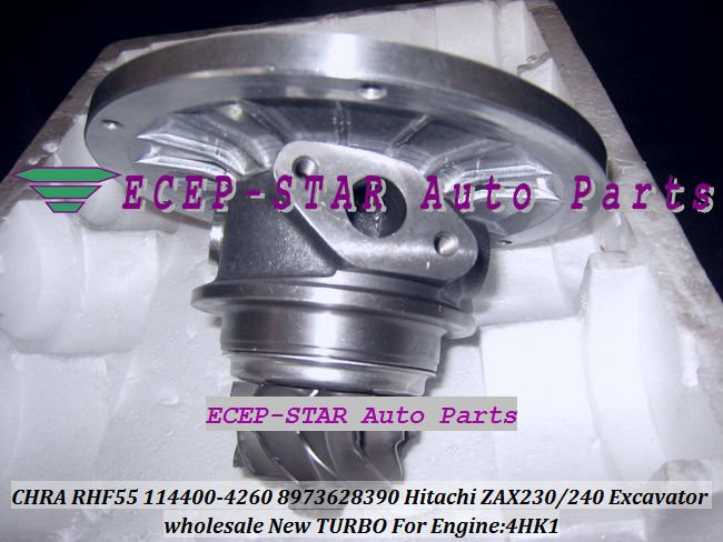 Turbo Chra cartridge Core RHF55 8973628390 114400 4260 For HITACH ZAX240 3 ZAX230 Excavator For ISUZU