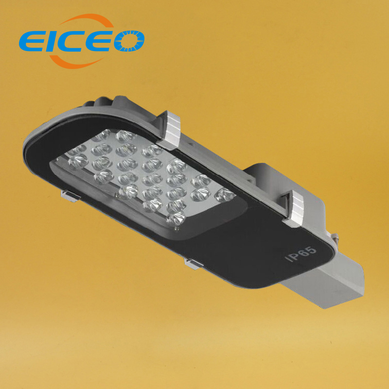 (EICEO) Udendørs belysning Led Street Light 24W 30W 40W 50W 100W LED Streetlight Lampe Vandtæt IP65 AC85-265V Path Lights Lamper