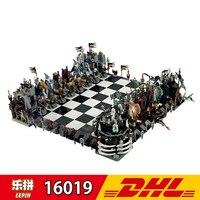Lepin 16019 The Movies Harry Potter Series Castle International Chess Building Kits 2475Pcs Block Bricks Children Toys Gifts