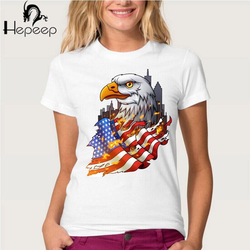 freedom eagle print t shirts 2016 fashion summer casual. Black Bedroom Furniture Sets. Home Design Ideas
